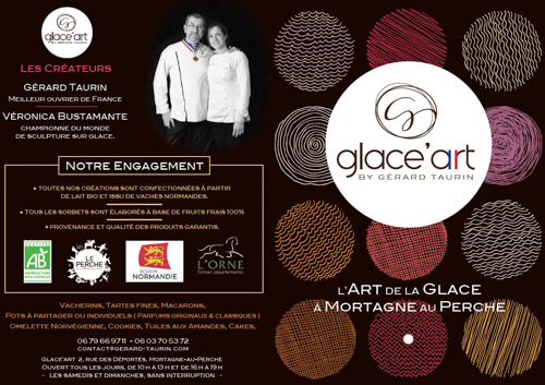 Glace'Art Flyer